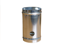 Metal Cylinder With Large Hole