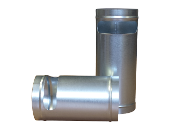 Slotted Metal Cylinders
